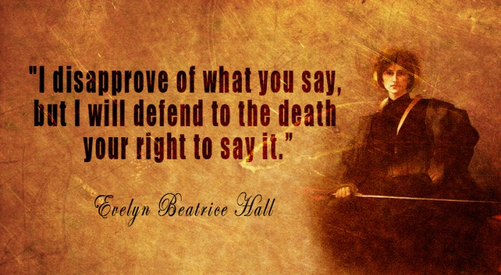 evelyn beatrice hall free speech