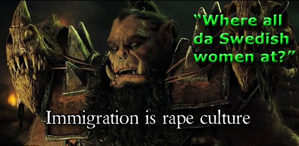 Sweden immigration rape