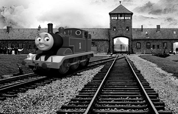 Auschwitz Thomas the train