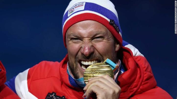 Axel Lund Svindal Ol-gull Norge Utfor alpint