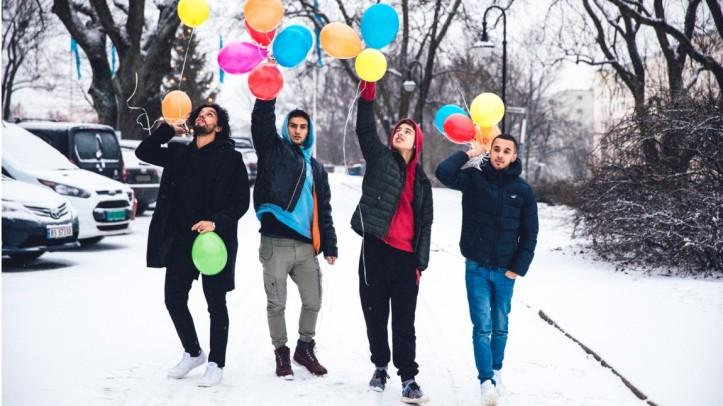 Ballonggjengen podkast NRK p3