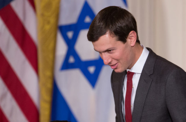 Trump, son-in-law work towards a win on an Israel-Palestinian deal