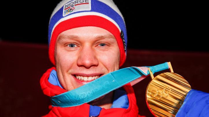 Norge, OL, Håvard Lorentzen Skøyter 500 m sprint