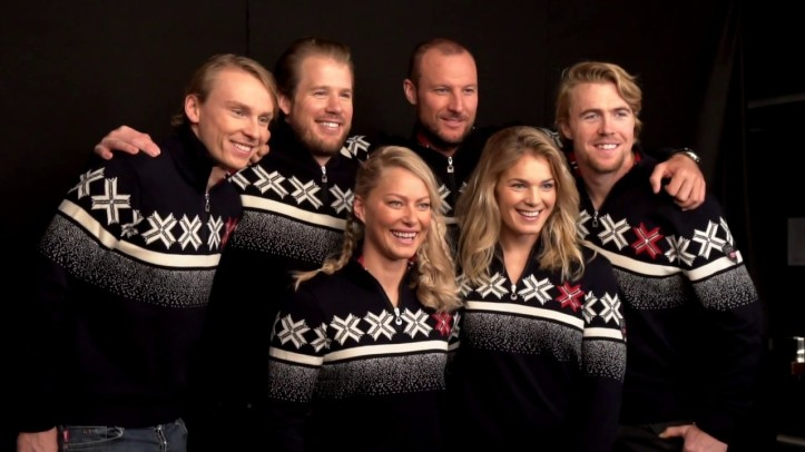 Norge OL medaljer alpint dale of Norway