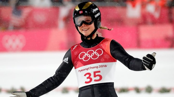 OL hopp kvinner Maren Lundby gullvinner