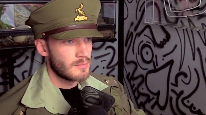 PewDiePie profilert høyreekstrem nynazist