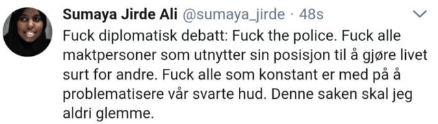 sumaya jirde ali fuck the police