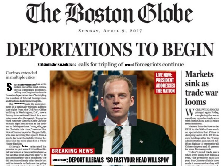 Trump Boston Globe - Gustav Kasselstrand