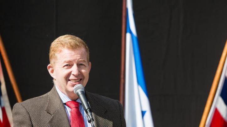 Israels ambassadør Raphael Schutz