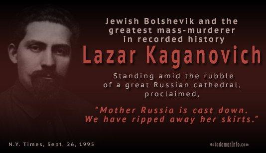 Jewish mass murderer Lazar