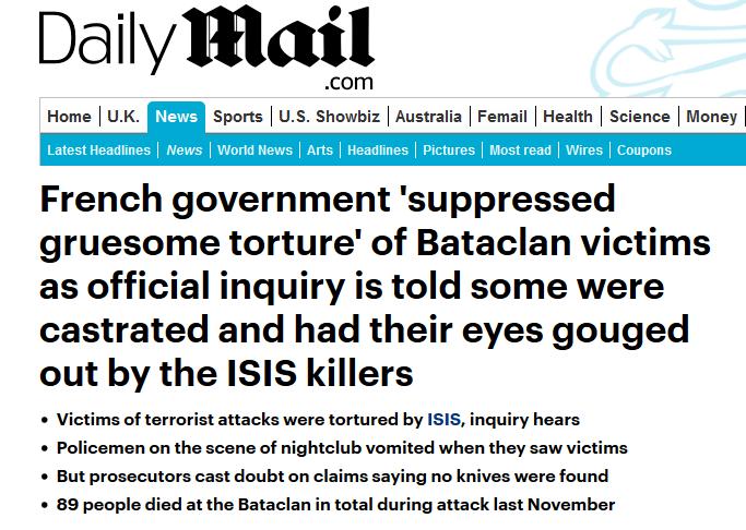 Bataclan tortur