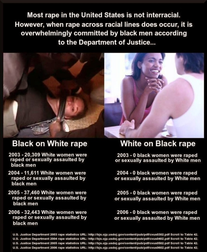 Interracial rape statistics