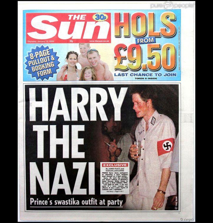 Prins Harry nazist swastika armbånd