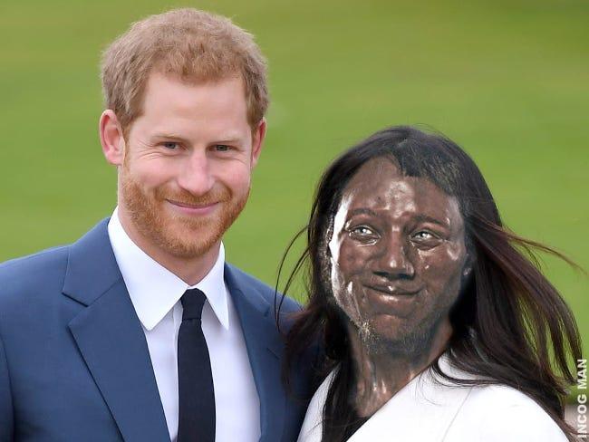 Prins-Harry-og-Meghan-Markle-Cheddar-man