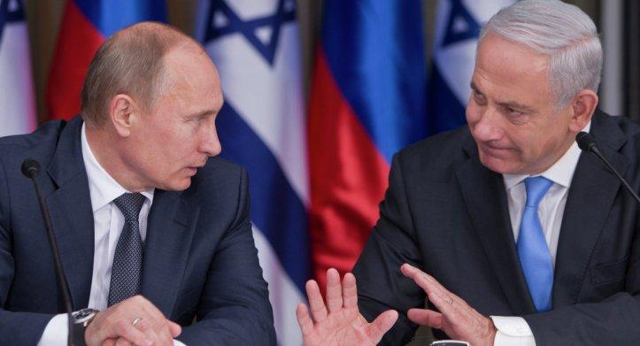 Putin og Netanyahu