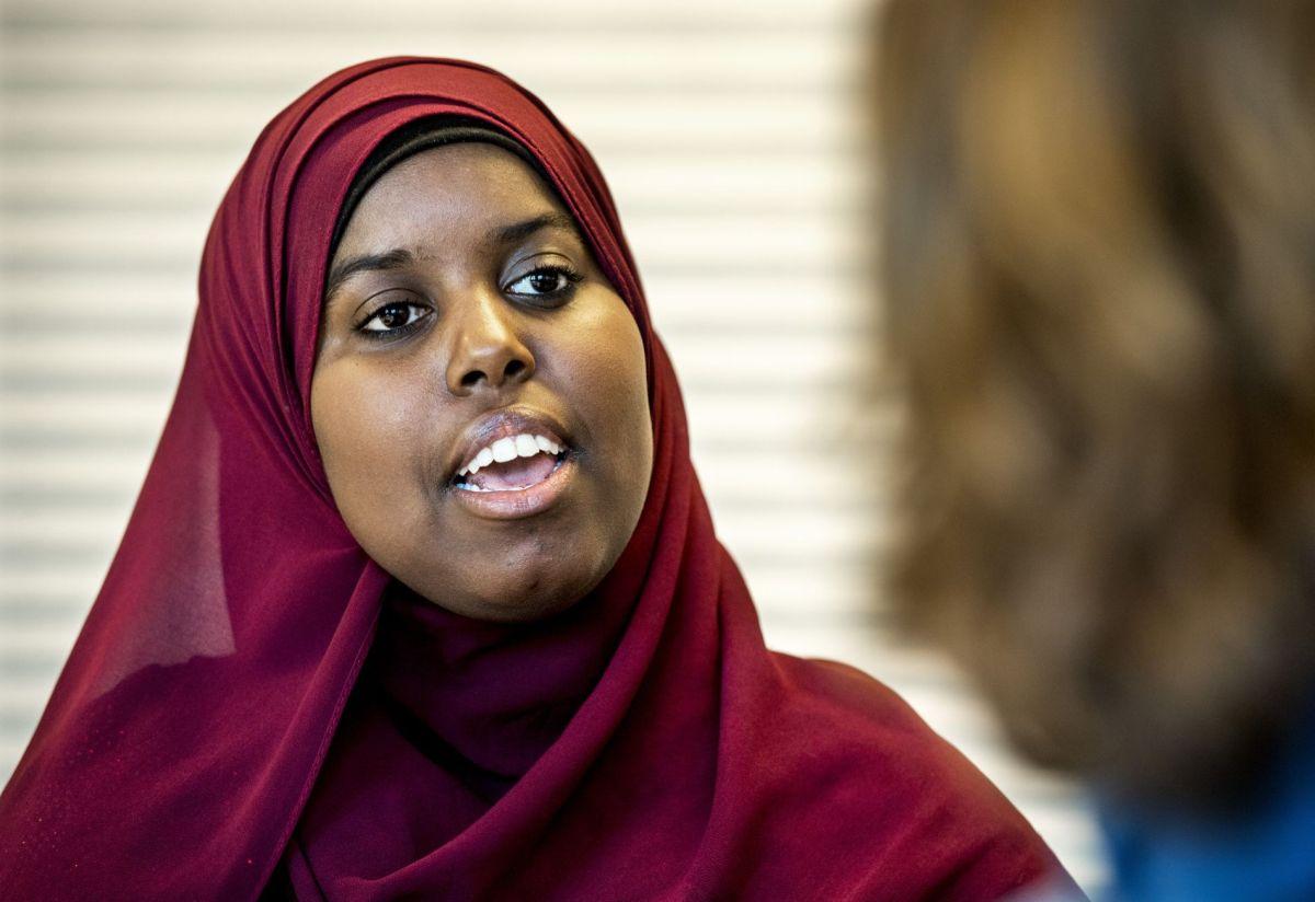 Sumaya Jirde Ali uttrykker sin kjærlighet for Norge