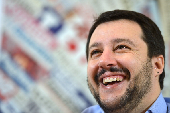 ITALY-POLITICS-LEGA NORD-SALVINI