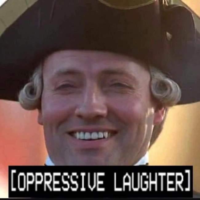 Oppressive Laughter