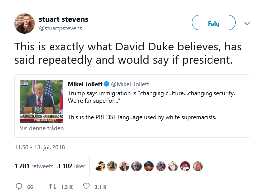 stuart stevens on Trump nationalism