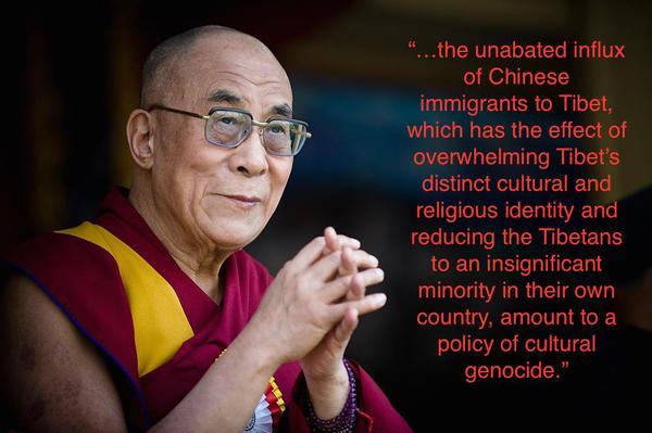 Tibet cultural genocide