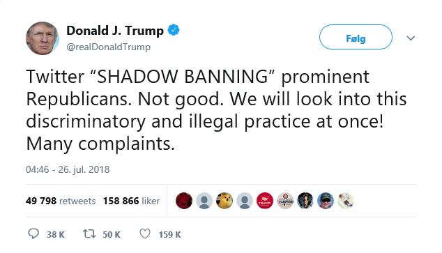 Trump Twitter free speech