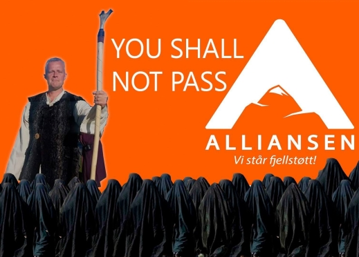 Alliansen - you shall not pass
