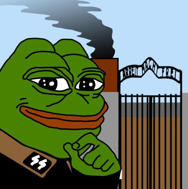 Pepe SS Arbeit Macht Frei