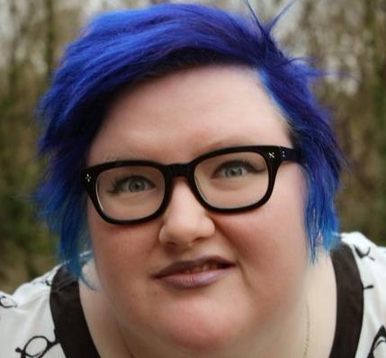 feminist blått hår