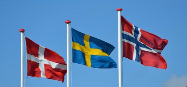 Norge Sverige og Danmark