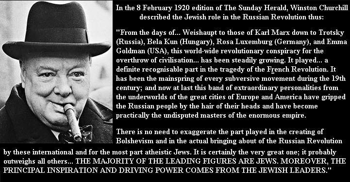 Churchill Jews communism