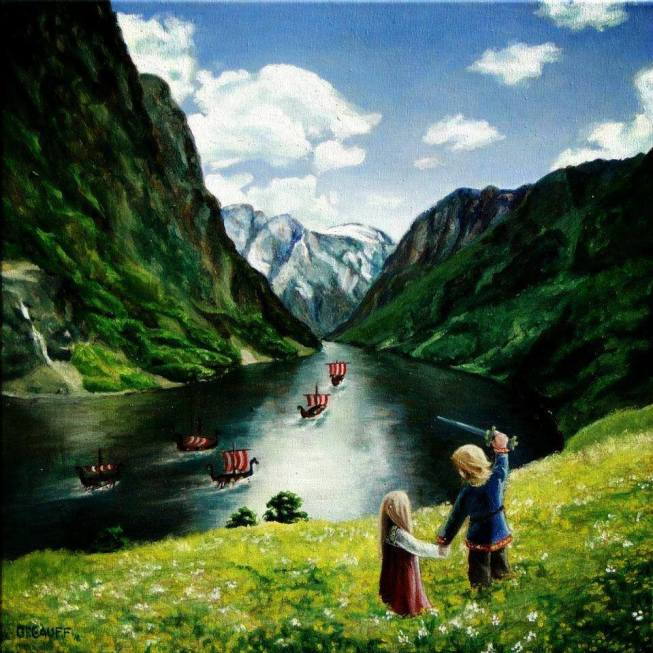Norge maleri