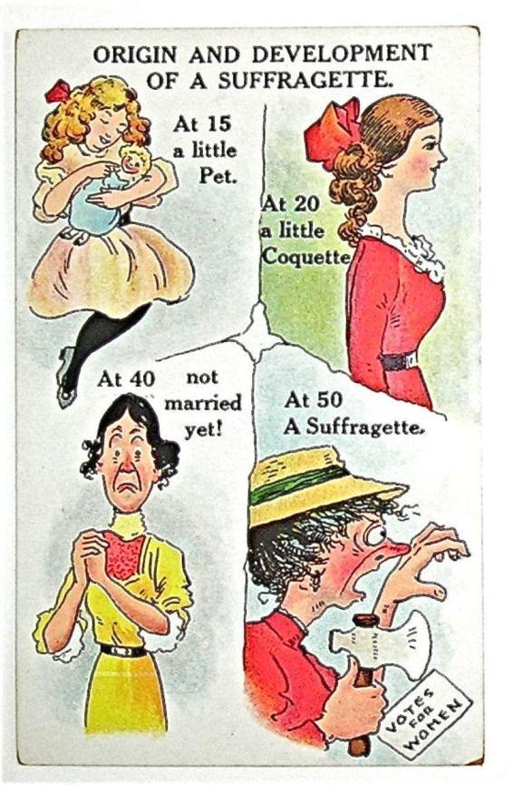 Suffragette poem