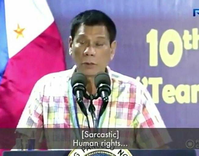 duterte- human rights