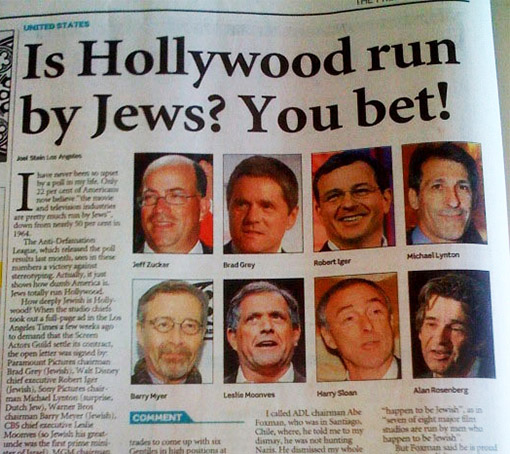 Hollywood-Jews