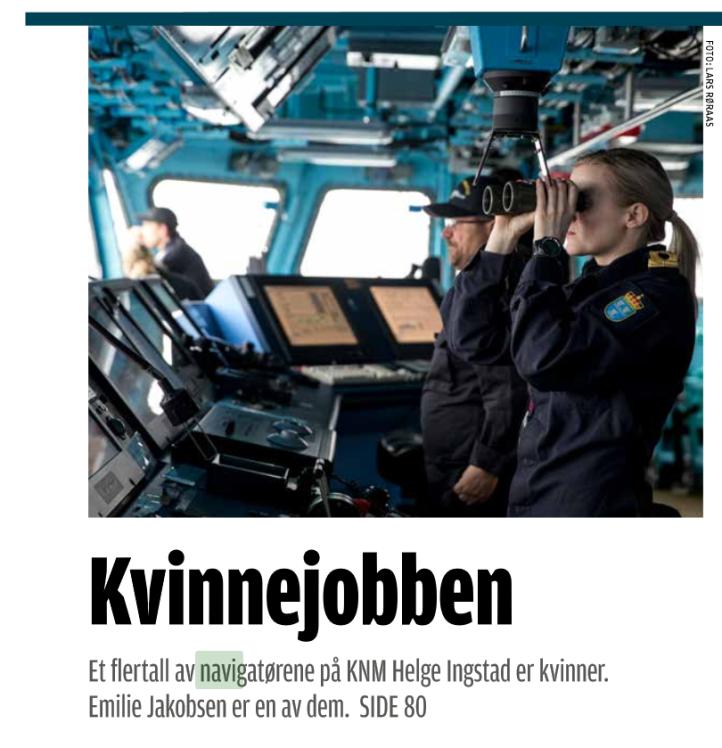 Kvinner Helge Ingstad