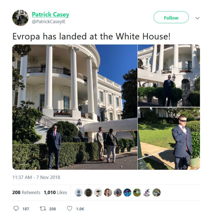 Patrick Casey - Det Hvite Hus