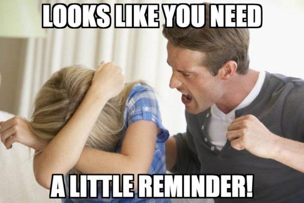 woman reminder