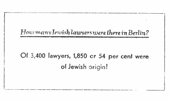 Jewish lawyers Berlin 1930s