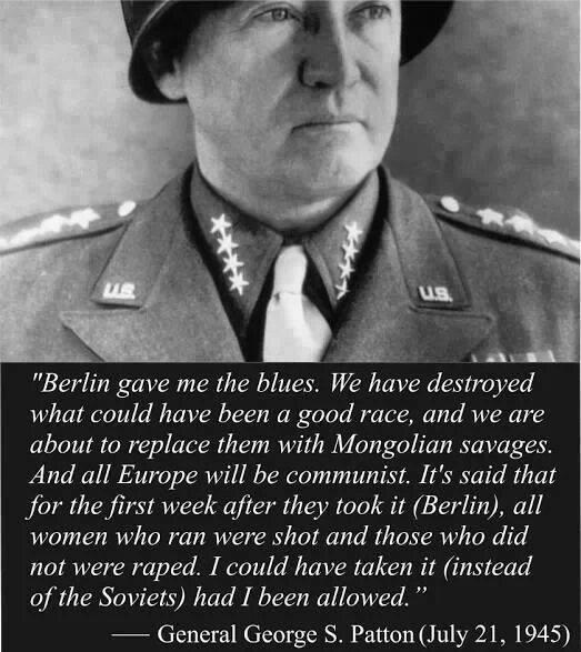 Patton knew
