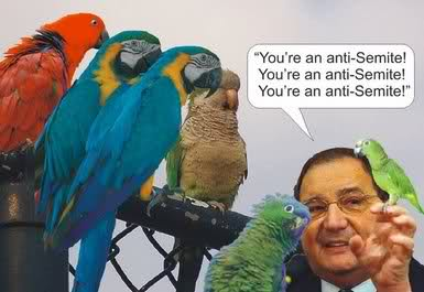 Antisemite parrot