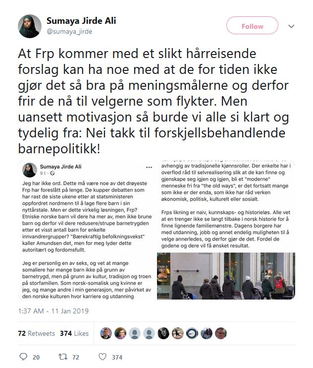sumaya jirde ali - twitter - amundsen