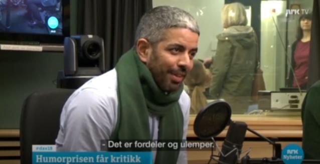 yousef svart humor