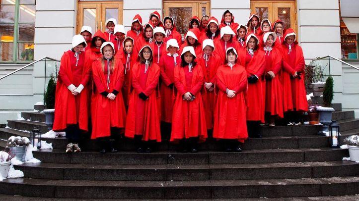 norske kvinner handmaidens tale