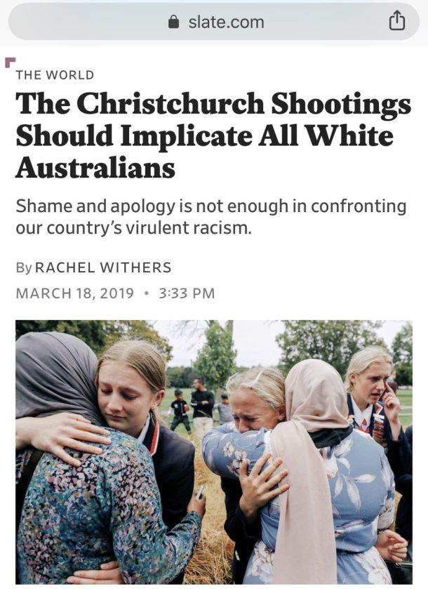 Christchurch media coverage - all whites