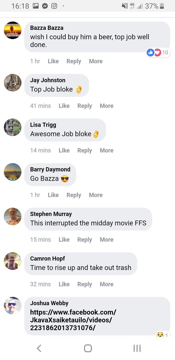 comments online NZ shooting