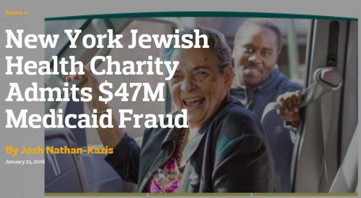 Jewish medicare swindlers