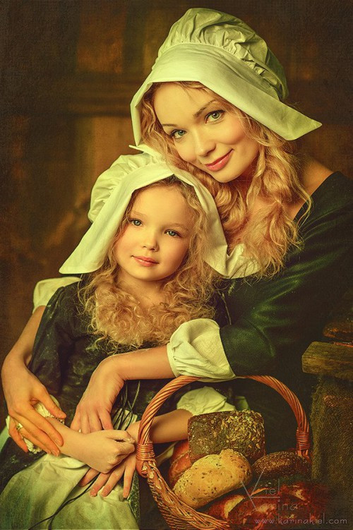 Karina Kiel ~ Mother and daughter