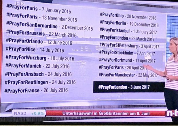 prayforeurope terror attacks