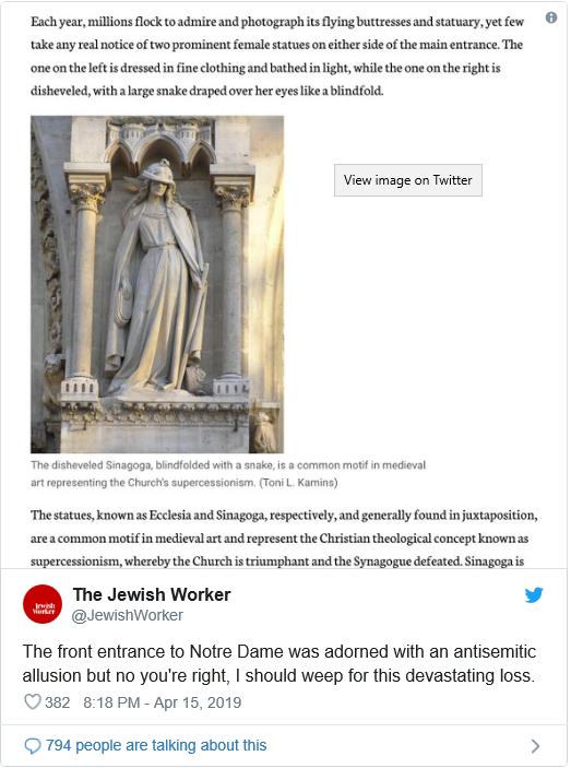 Jewish worker - Notre-Dame
