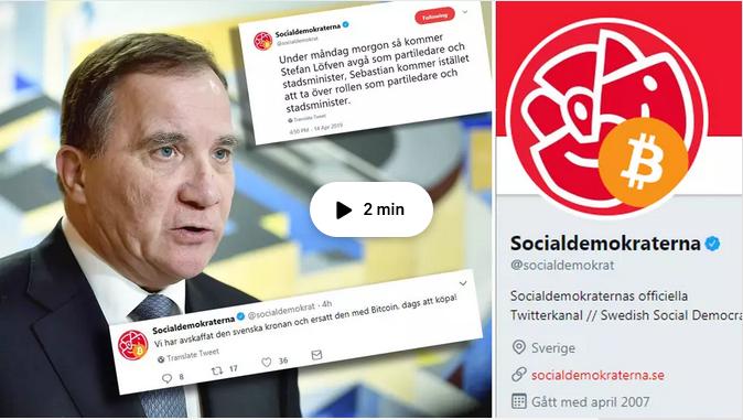 Stefan Löfven twitter